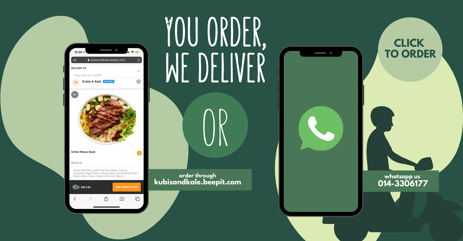 Kubis and Kale Delivery